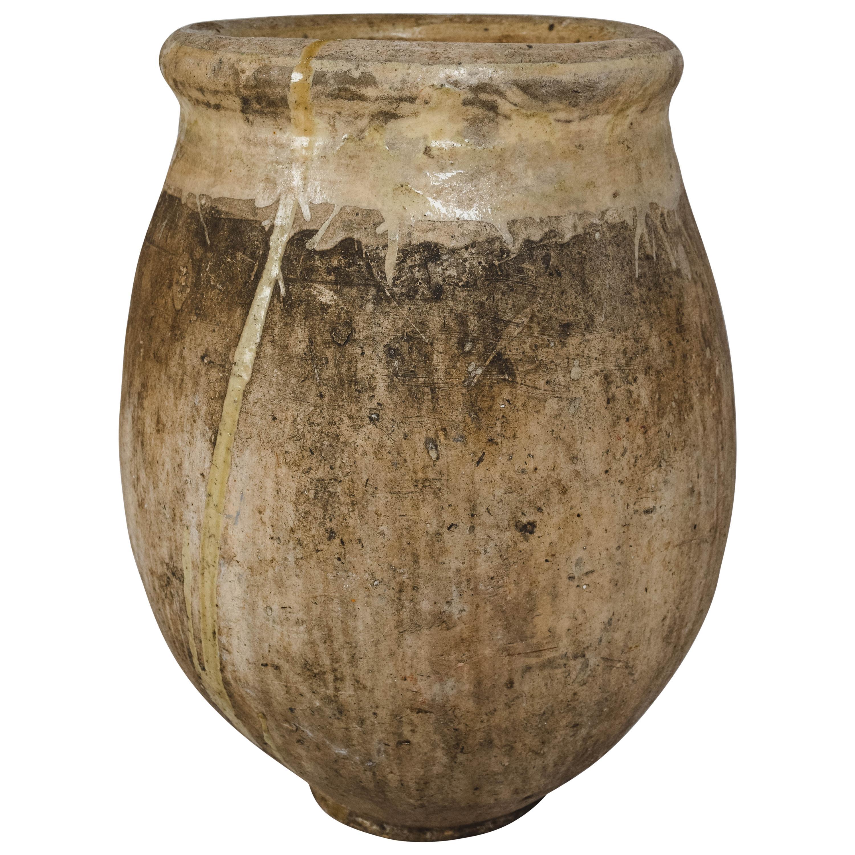 19th Century French Terracotta Biot Jar