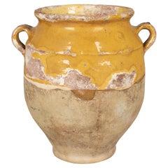19th Century French Terracotta Confit Pot