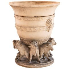 19th Century French Terracotta Planter