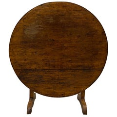 19th Century French Tilt-Top Tavern or Wine Table