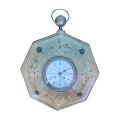 19th Century French Tole Clock