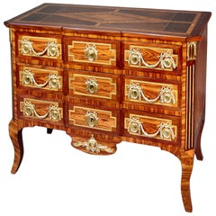 19th Century French Transitional Style Three-Drawer Chest