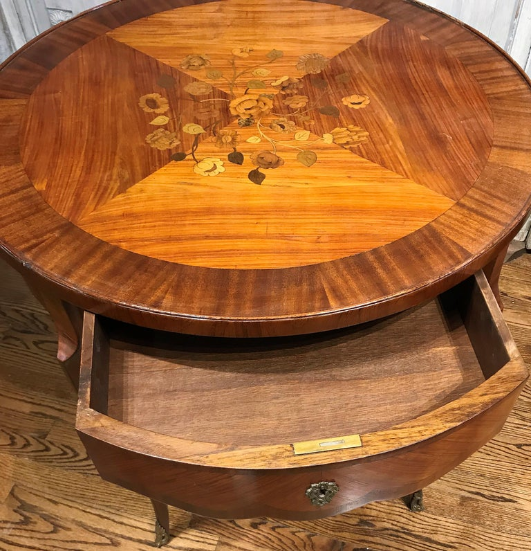 19th Century French Transitional Table In Good Condition For Sale In Dallas, TX