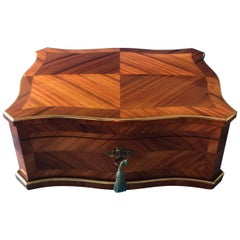 19th Century French Tulipwood Box