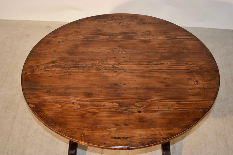 19th Century French Vendange Table For Sale 1