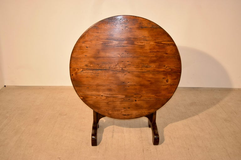 19th Century French Vendange Table For Sale 2