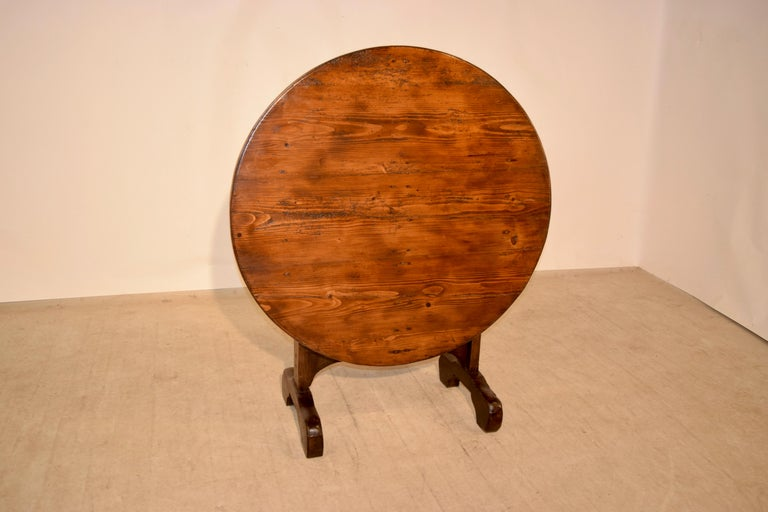 19th Century French Vendange Table For Sale 3