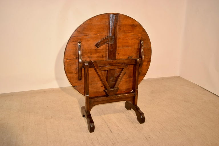 19th Century French Vendange Table For Sale 4