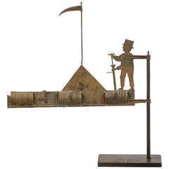 19th Century French Vintner Weathervane