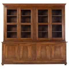 19th Century French Walnut Bookcase