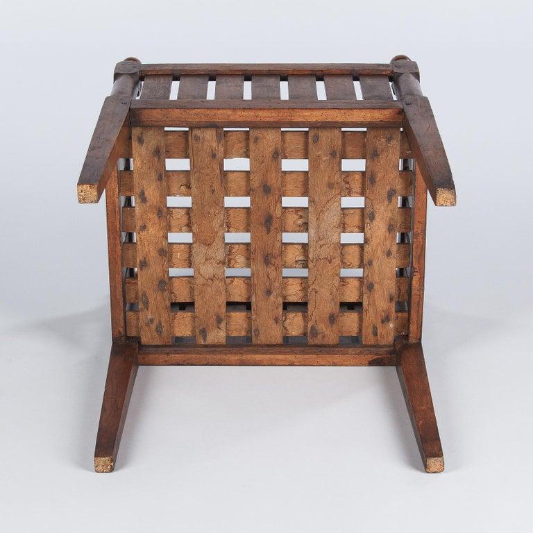 19th Century French Walnut Planter Jardiniere For Sale 14