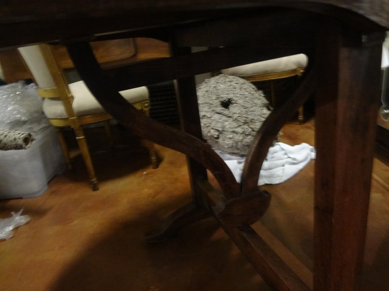 19th Century French Walnut Wine Tasting Table For Sale 4