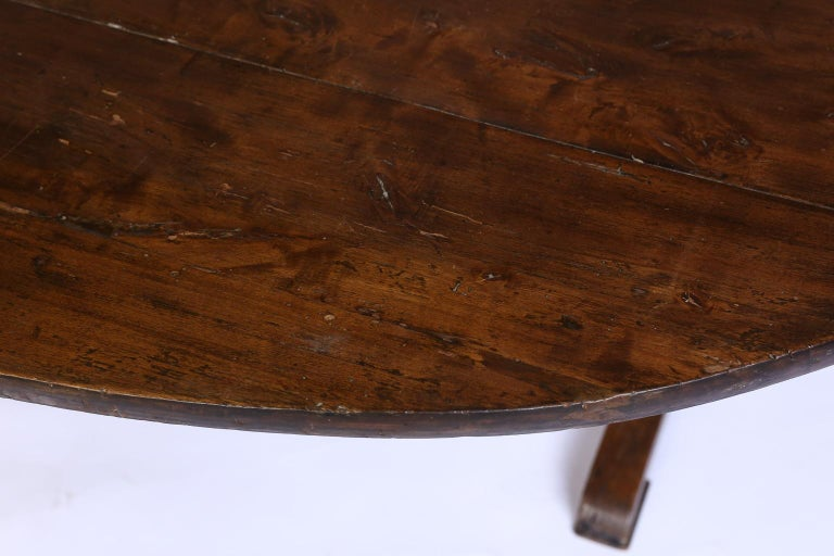 19th Century French Wine Tasting Table In Good Condition In Houston, TX