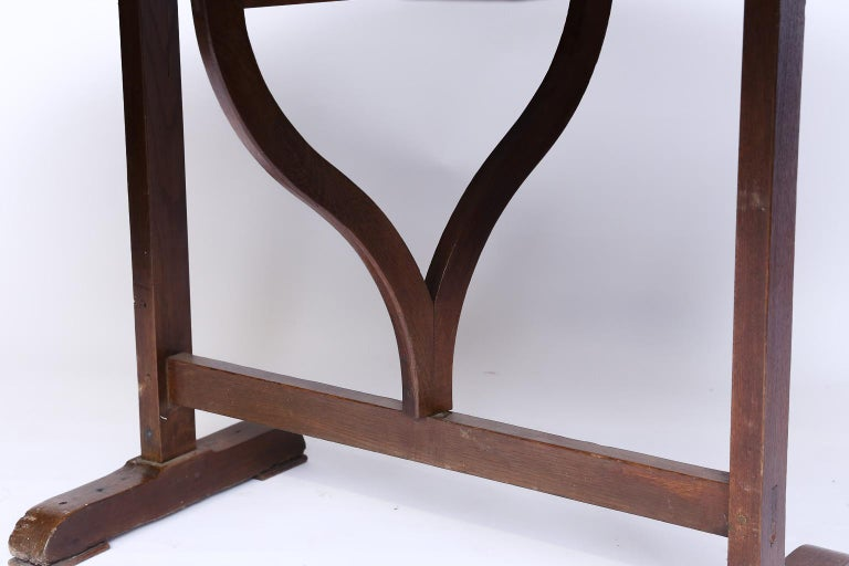 Wood 19th Century French Wine Tasting Table