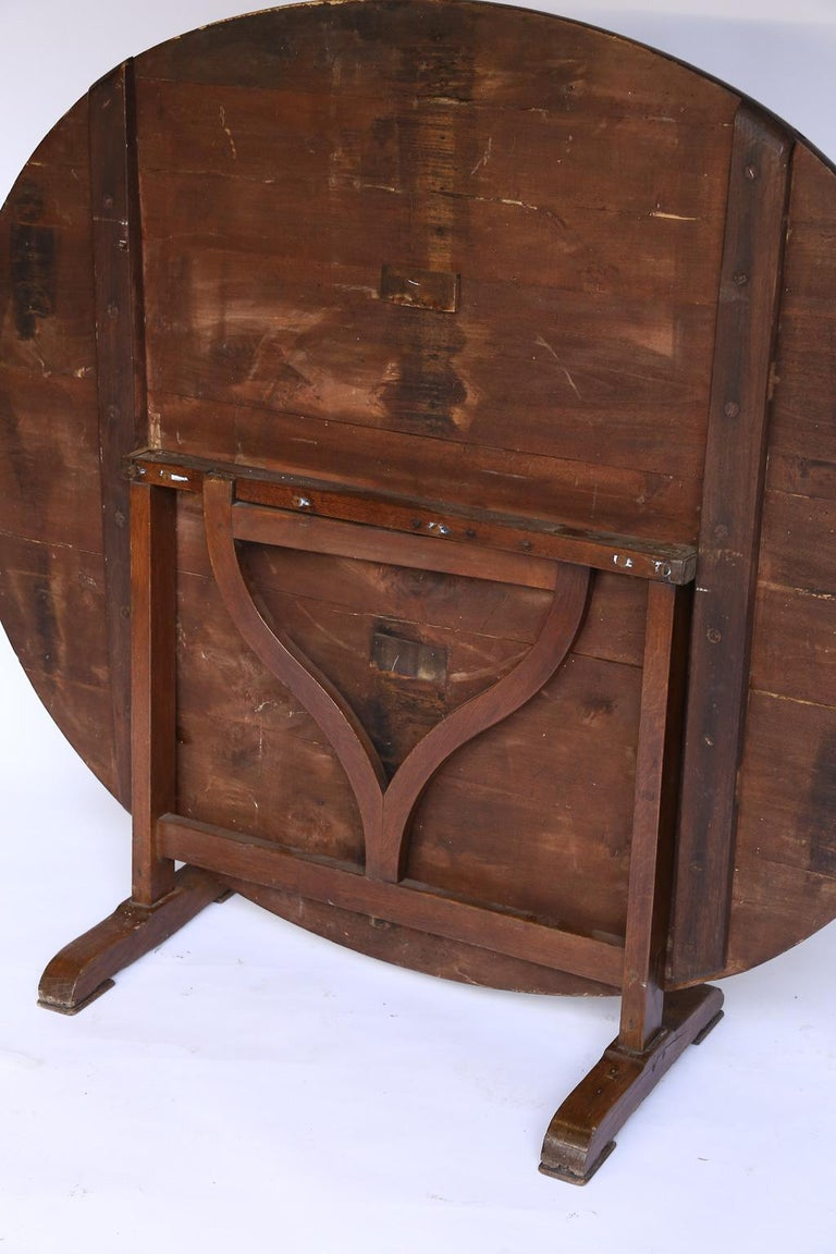 19th Century French Wine Tasting Table 5