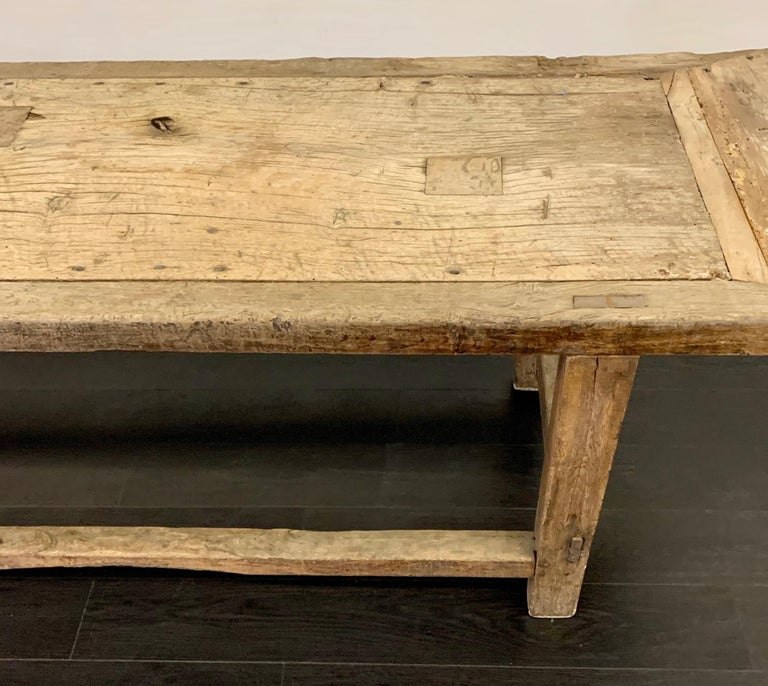 18th Century French Work Farm Table For Sale 6