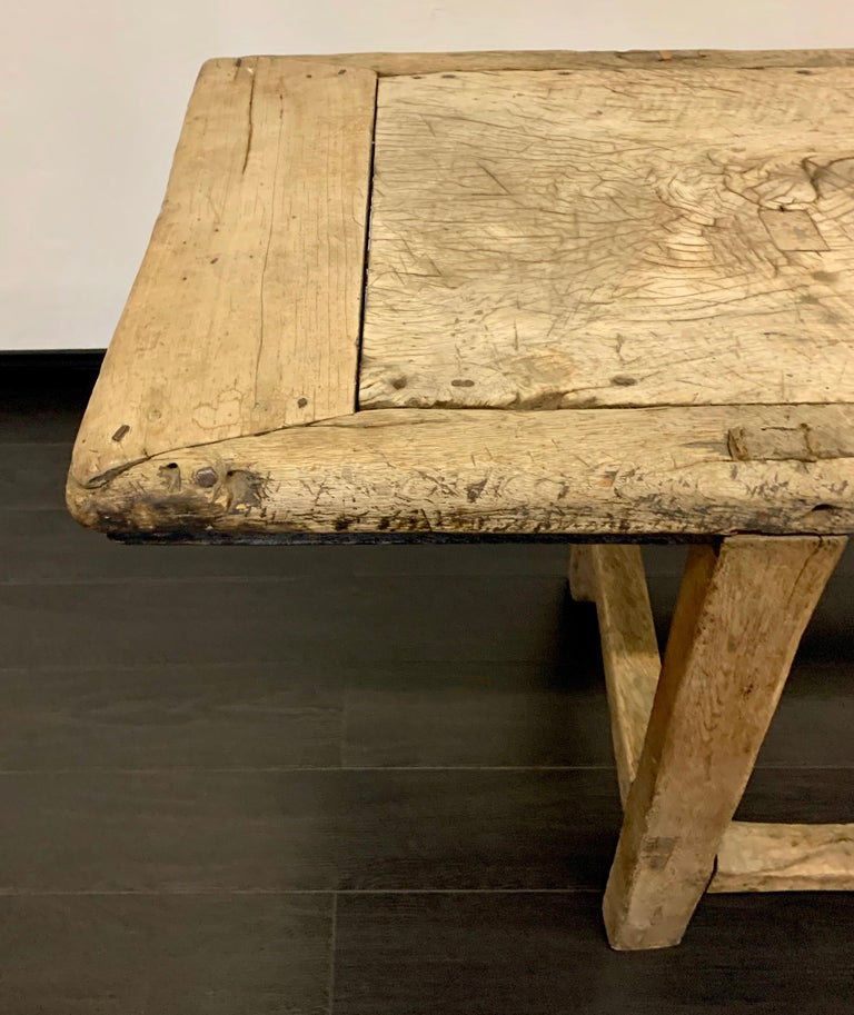 18th Century French Work Farm Table For Sale 7