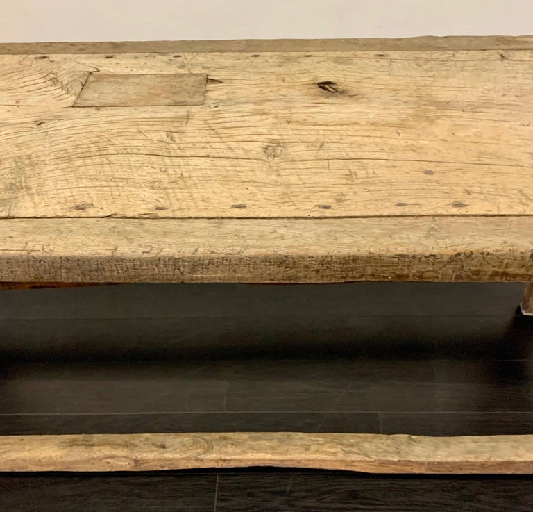 18th Century French Work Farm Table For Sale 8