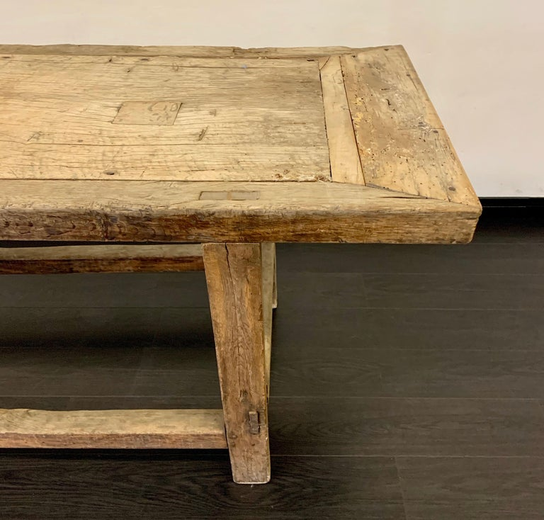 18th Century French Work Farm Table For Sale 9
