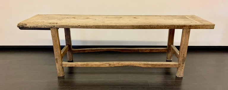 18th Century French Work Farm Table For Sale 10