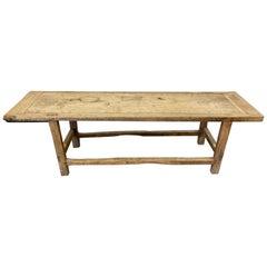 18th Century French Work Farm Table