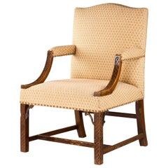 19th Century Gainsborough Armchair