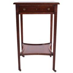 19th Century George III Inlaid Rosewood Side Table