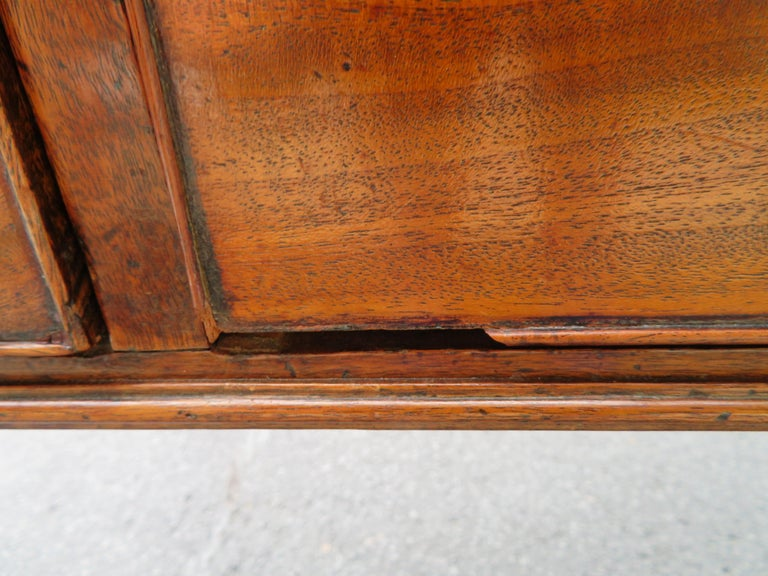 19th Century George III Double-Sided Partner Leather-Top Library Table or Desk 14