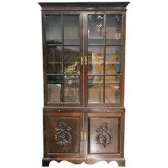 19th Century Georgian Mahogany Bookcase