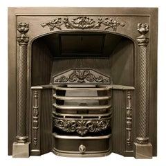 19th Century Georgian Style Hob Grate Fireplace Insert