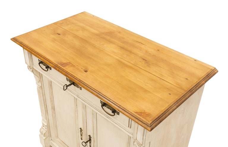 Late 19th Century 19th Century German Kitchen Cabinet For Sale