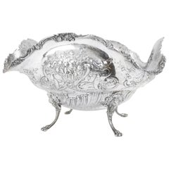 19th Century German Silver Centerpiece