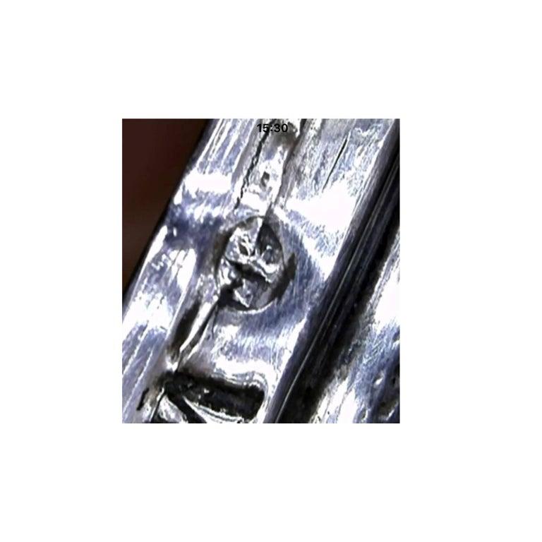 19th Century German Silver Filigree Spice Tower Judaica Havdalah Besamin For Sale 3