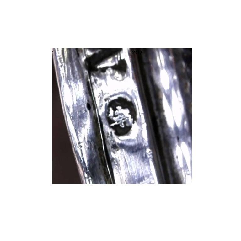 19th Century German Silver Filigree Spice Tower Judaica Havdalah Besamin For Sale 5