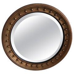 19th Century Gilded  Bullseye Mirror