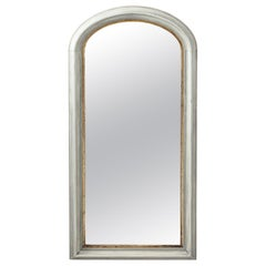 19th Century Gilded Empire Style Rounded Arch Mirror