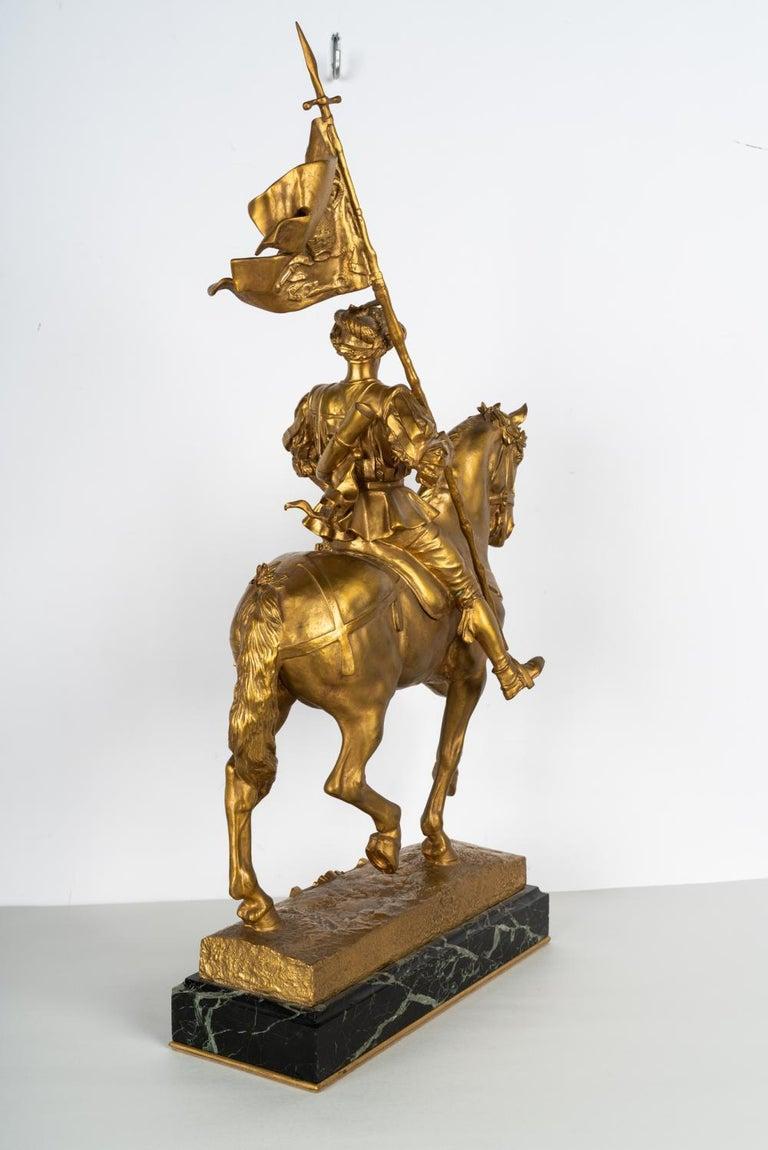 19th Century Gilt Bronze by Emmanuel Fremiet For Sale 9