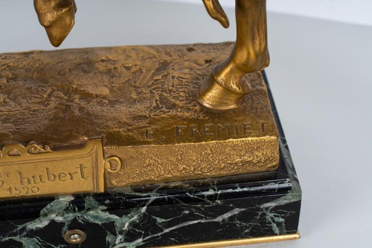 19th century gilt bronze by Emmanuel Fremiet / Titled to base