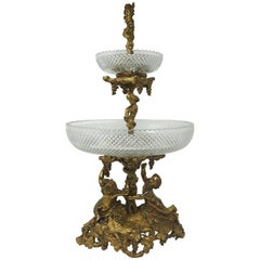 19th Century Gilt Bronze Centrepiece