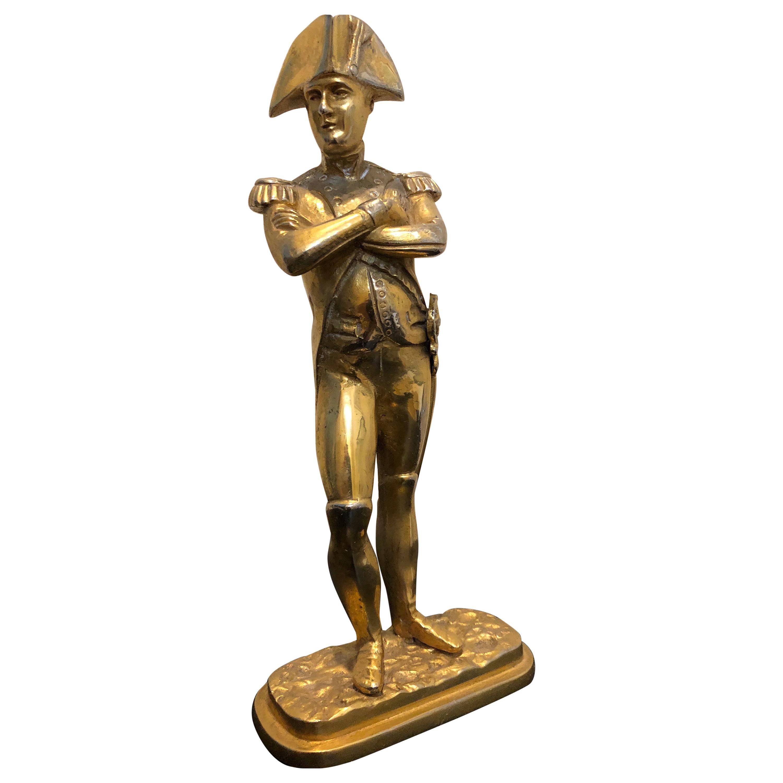 19th Century Gilt Bronze Napoleon