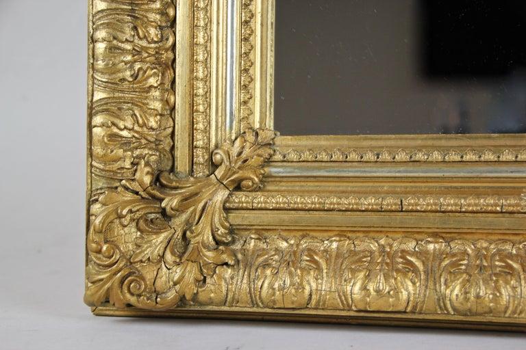19th Century Gilt Mirror, Austria, circa 1860 For Sale 5