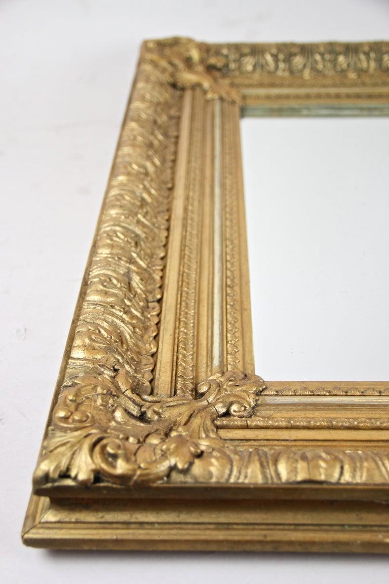 19th Century Gilt Mirror, Austria, circa 1860 For Sale 6