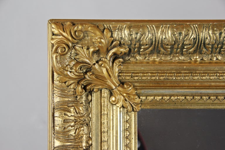 19th Century Gilt Mirror, Austria, circa 1860 In Good Condition For Sale In Linz , AT