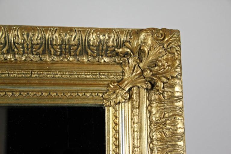 19th Century Gilt Mirror, Austria, circa 1860 For Sale 1