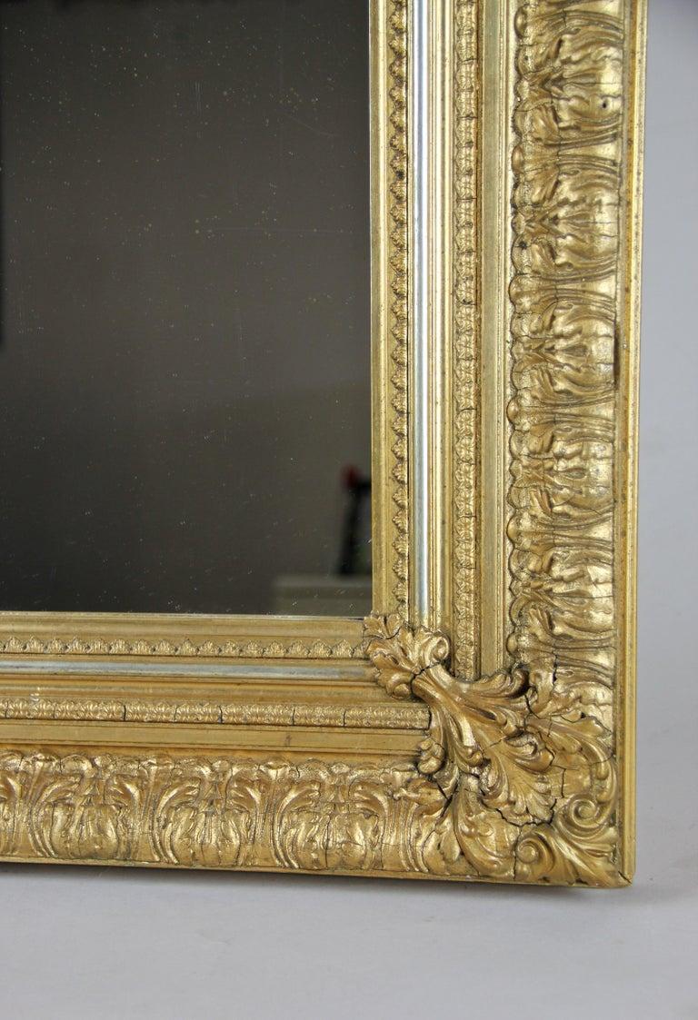 19th Century Gilt Mirror, Austria, circa 1860 For Sale 2