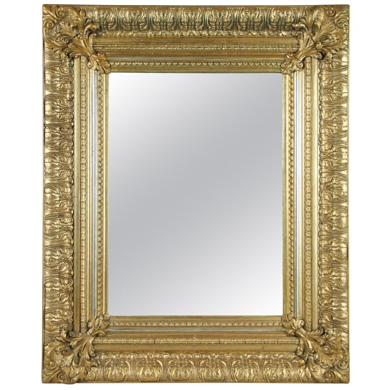 19th Century Gilt Mirror, Austria, circa 1860 For Sale
