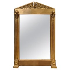 19th Century Giltwood Occasional Mirror in the style of Sir Lawrence Alma-Tadema