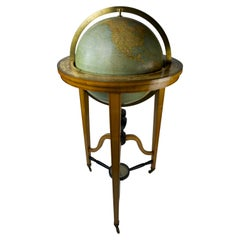 19th Century Globe of the Firm Ernst Schotte 'Berlin' in the German Language