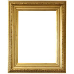 19th Century, Gold Biedermeier Frame for Mirror or Picture