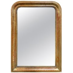 19th Century Gold Gilt Louis Philippe Mirror